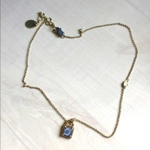 Juicy Couture Lock Necklace